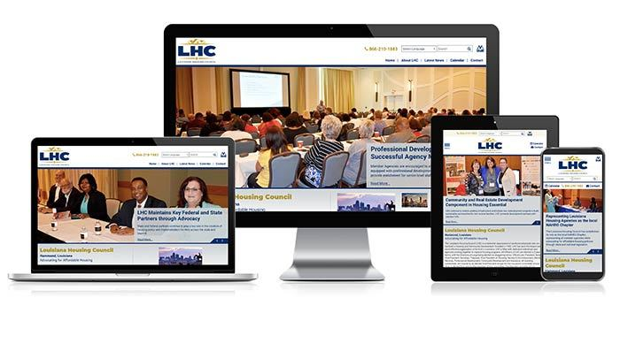jpg of the responsive views of LHC website